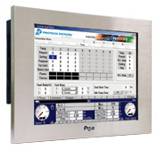 Panel PC industriel LCD