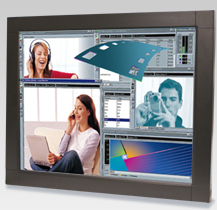 "20"" iCore Panel PC industriel LCD TFT Tactile ou non multimedia (Intel Socket 1155 for Intel Core™ i7 /Core™ i5 / Core™ i3) avec core i3-2120, mémoire ram DDRIII 2Gb, Disque dur 160 Gb"